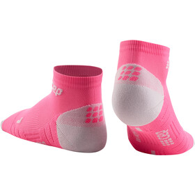 cep 3.0 Calcetines Corte Bajo Mujer, rose/light grey